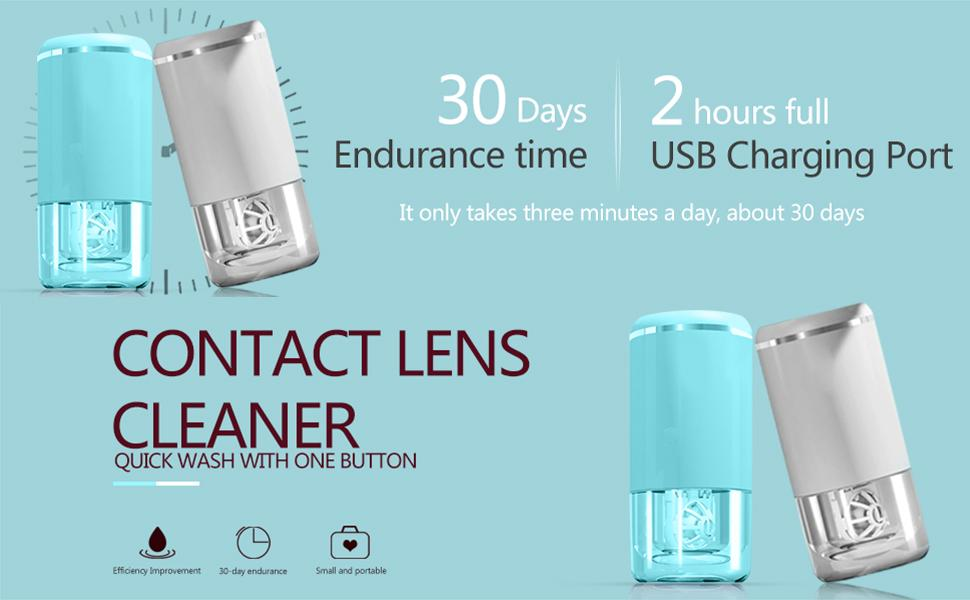 UpaClaire Ultrasonic Contact Lens Cleaner