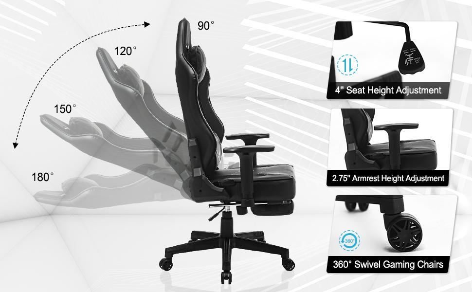 RACING CHAIRS FOR GAMER