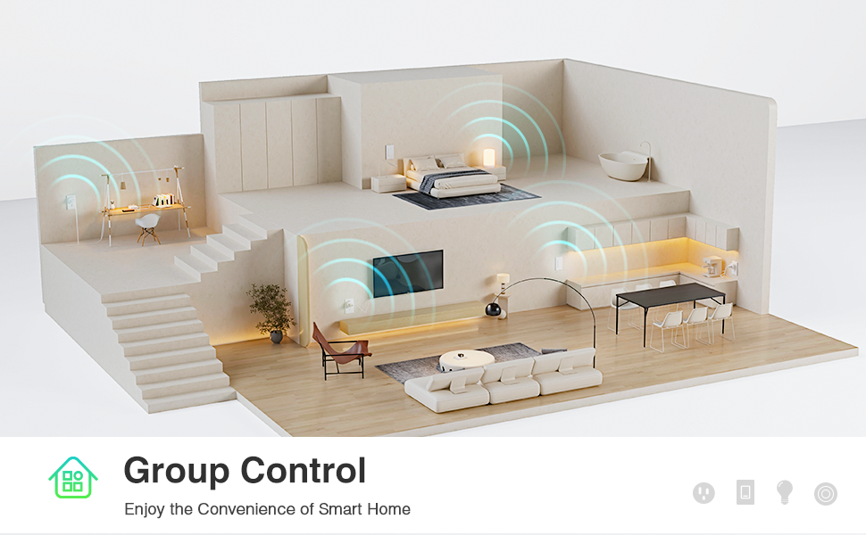 wifi outlet group control