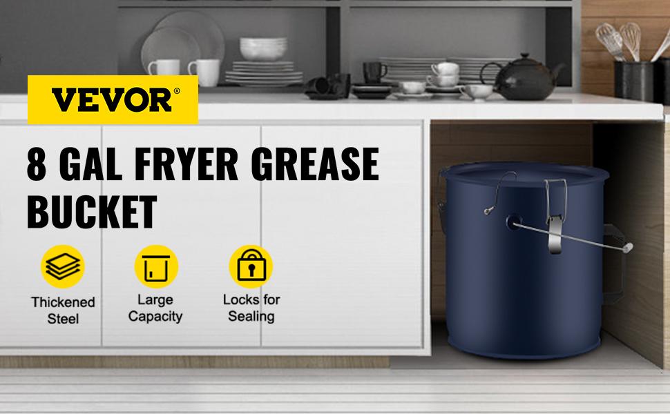 fryer grease bucke