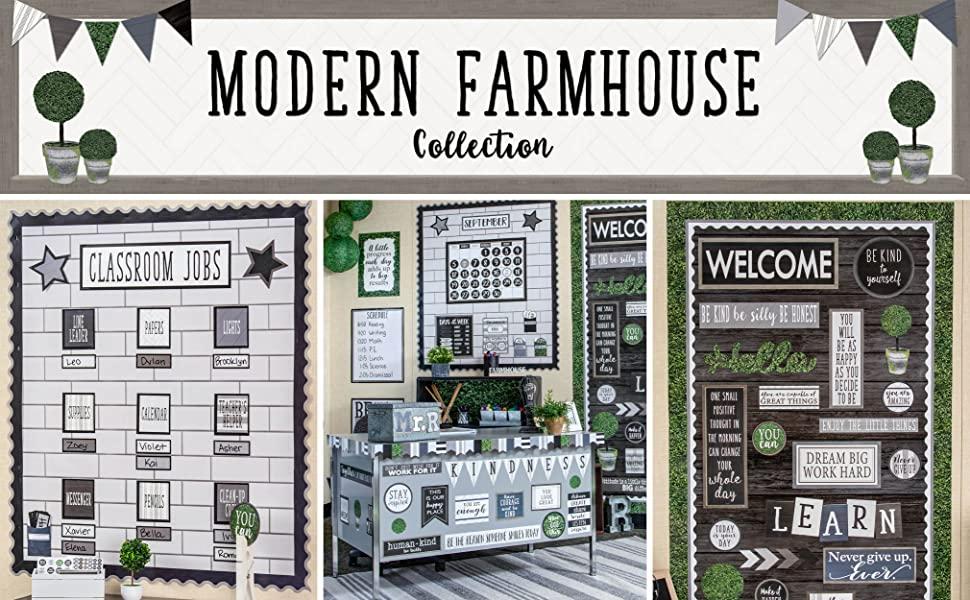 modern farmhouse theme from teacher created resources