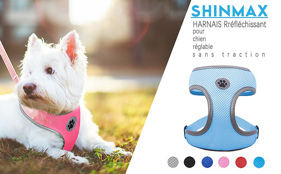 No-Pull Einstellbarer Komfort Reflektierender Hundegeschirr