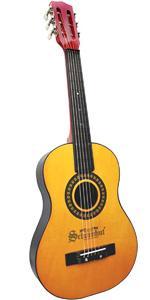 6 guitar acoustic for strings accoustic beginners set kids string childrens adult bass beginner