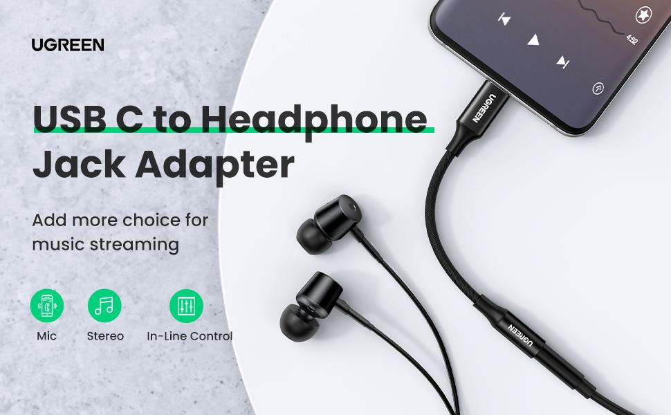usb c to 3.5mm headphone adapter
