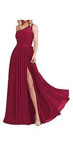 Flowy Bridesmaid Dresses Split
