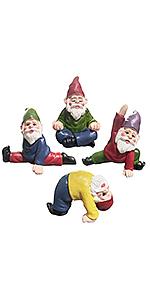 yoga garden gnomes