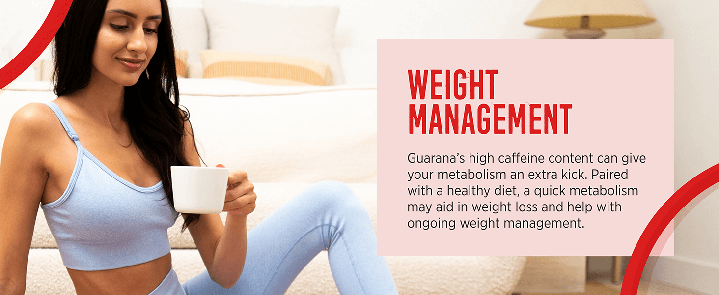 Guarana aids in weight management