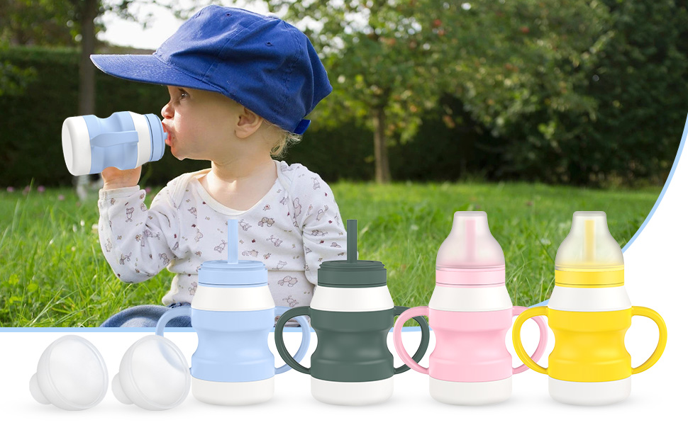 straw baby cups