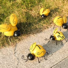 Bees on the grass