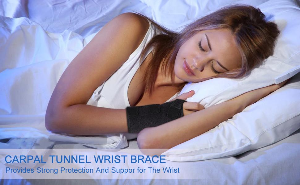 carpal tunnel wrist brace night support