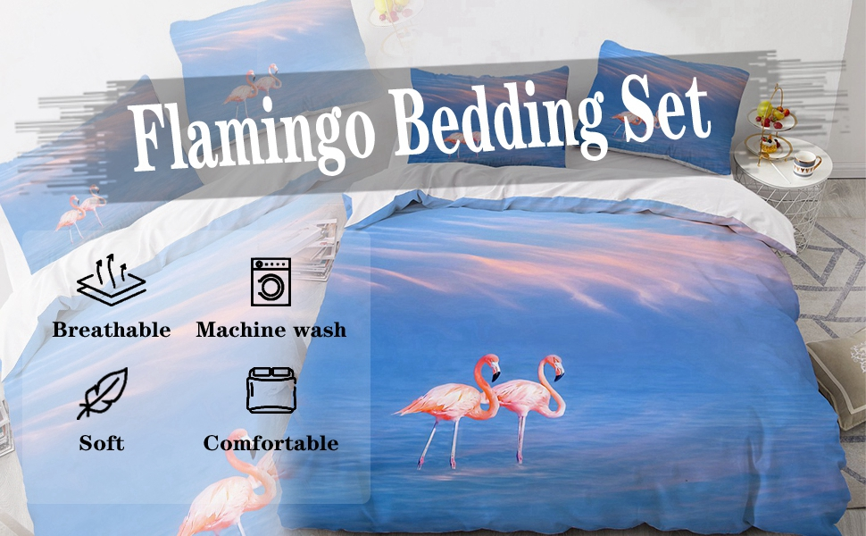 Flamingo Bedding Set