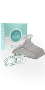 botanical greenery baby closet size dividers nursery closet dividers baby clothes dividers for baby