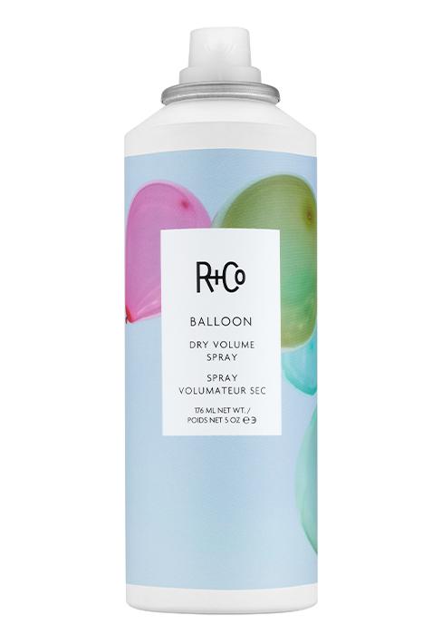 Balloon dry volume spray