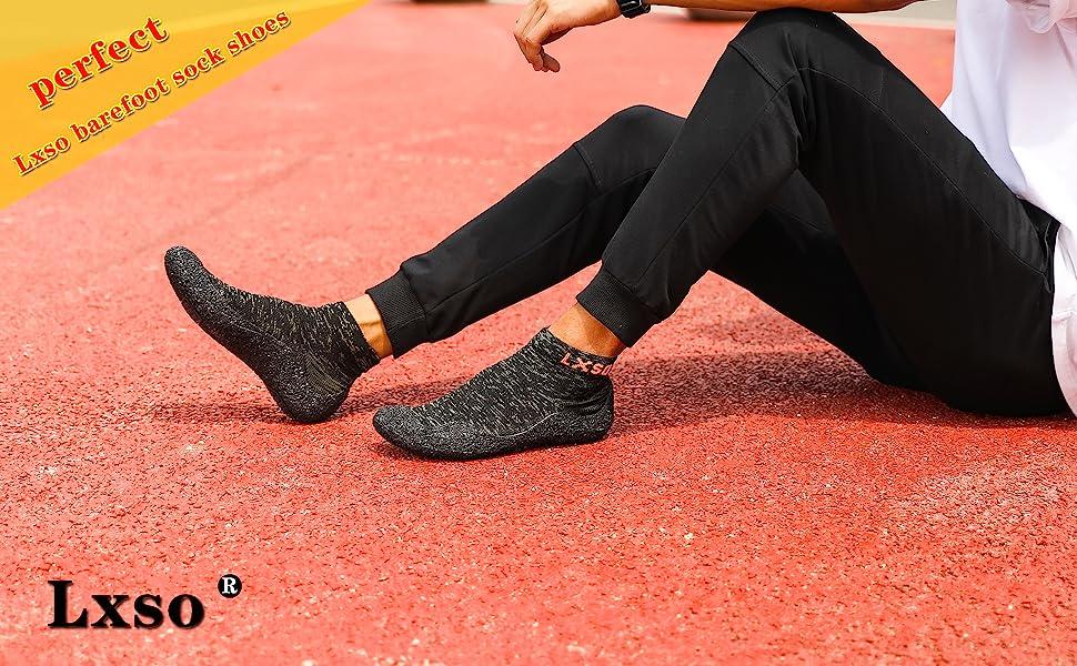 barefoot sock shoes for men