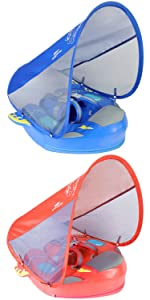 Newest Mambobaby Baby Shark Swim Float with Canopy