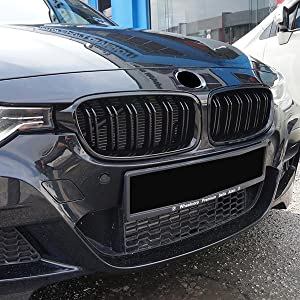 3 black front grille 3 series