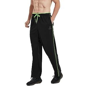 black sweatpants for men