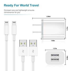 iphone charger cable with plug