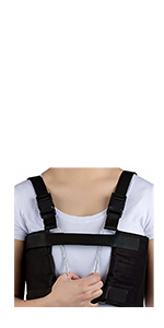 Chest Support Brace with 2 Wire Frame Grips