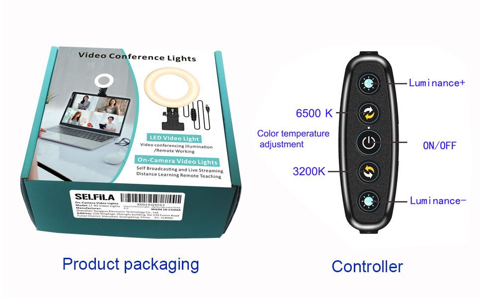 SELFILA Video Conference Lighting Kit