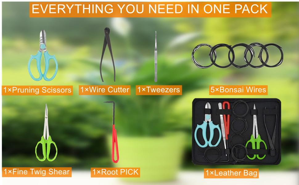 MOFOPAKOO Garden Plant Tools are loved by everyone because of their reliable quality