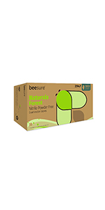 BeeSure Naturals Forest Nitrile