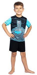 boys batman 3 piece pajama