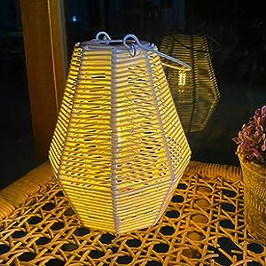 solar patio lantern hanging
