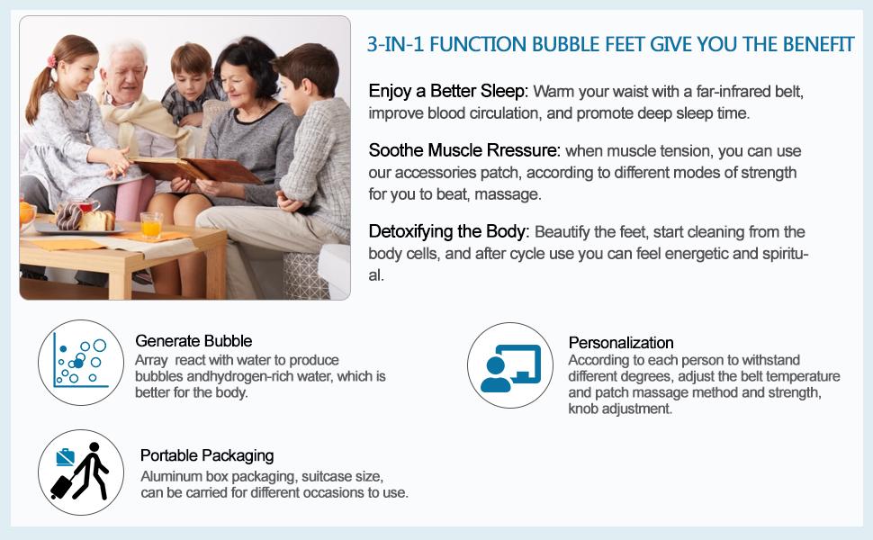 professional foot detox machine