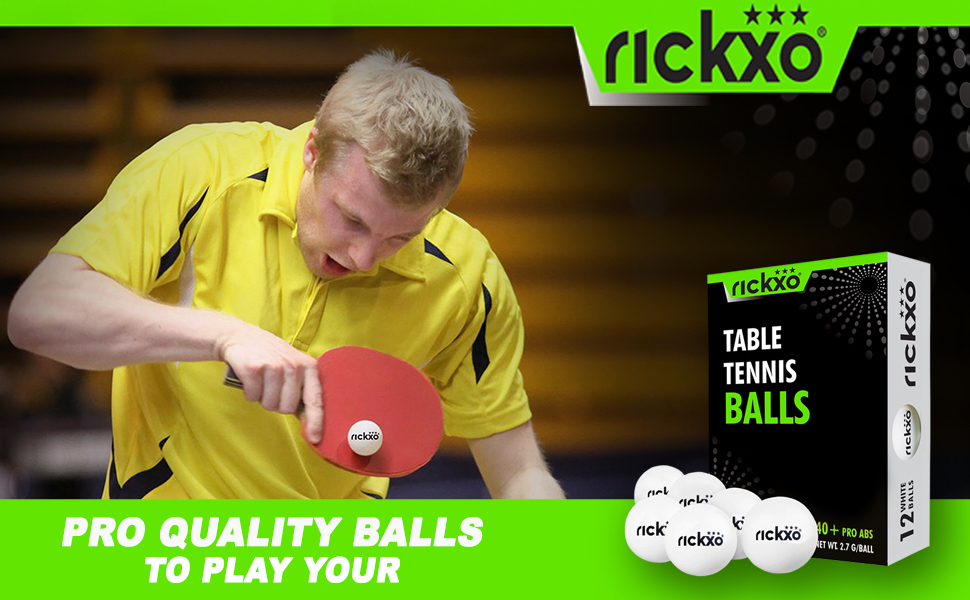 Professional Quality Table Tennis Ping Pong Balls