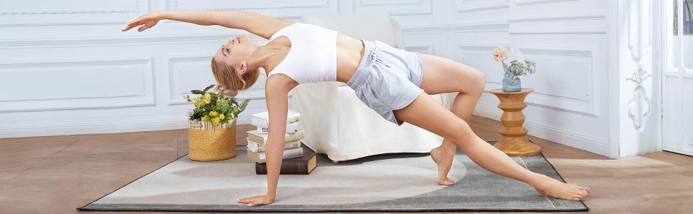 Damen Sport BH Push Up Gepolstert Bustier Ohne Bügel für Yoga Bra Top mit Integriertem