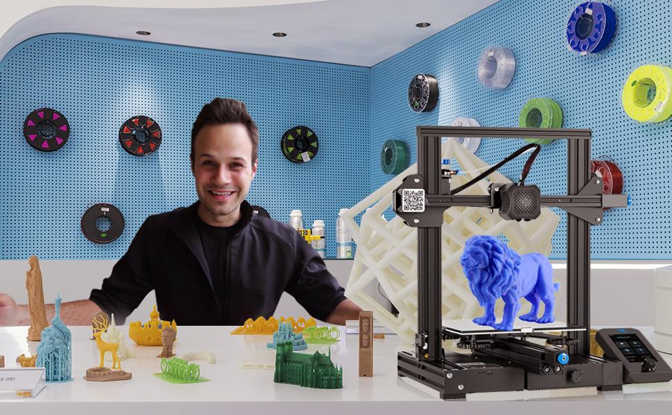 Crealityamp;amp;Ender PLA 3D Printer Filament