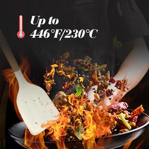Heat Resistant (-40°F/446°F)