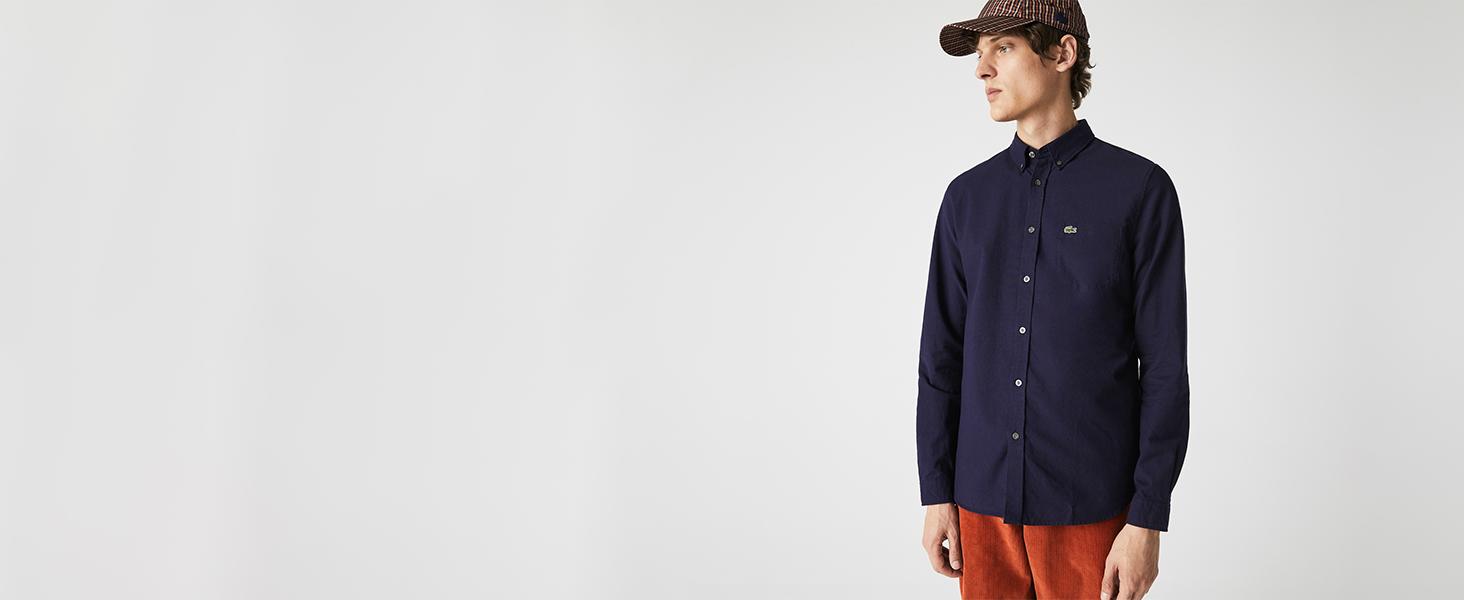 Lacoste Men's Heavyweight Cotton Overshirt