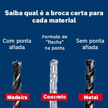 Broca ideal para cada material