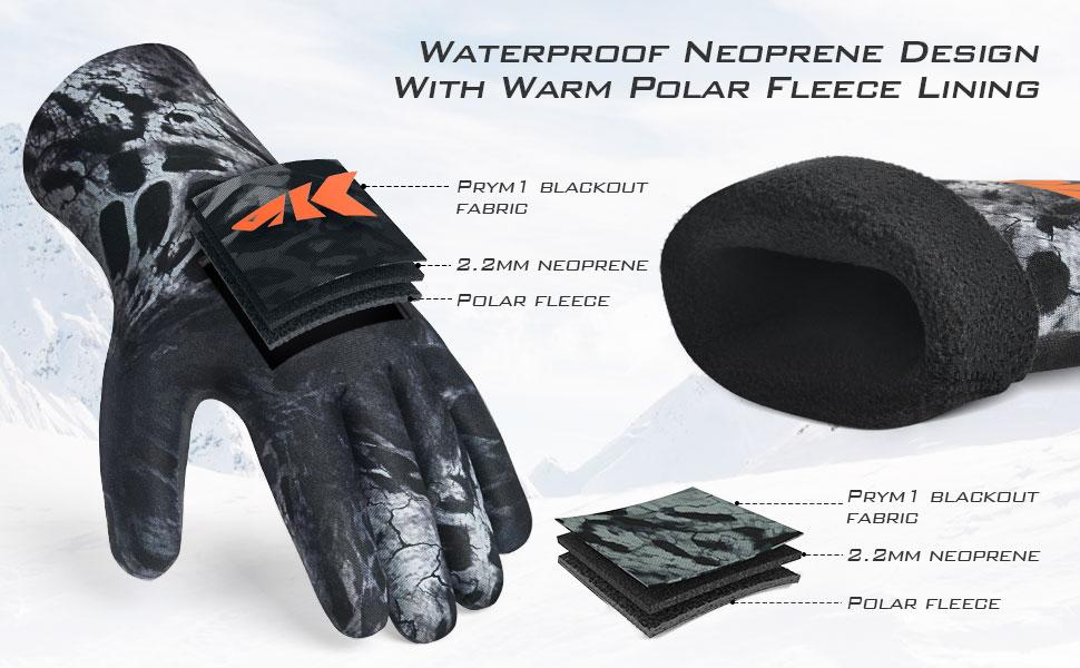 IceRiver Neoprene Gloves banner5
