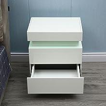 nightstand white