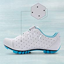 breathable mesh cycling shoes women