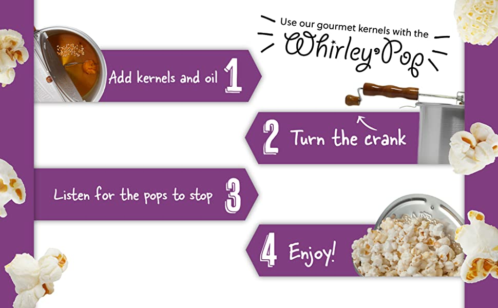 whirley pop instructions