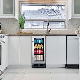 mini fridge beverage
