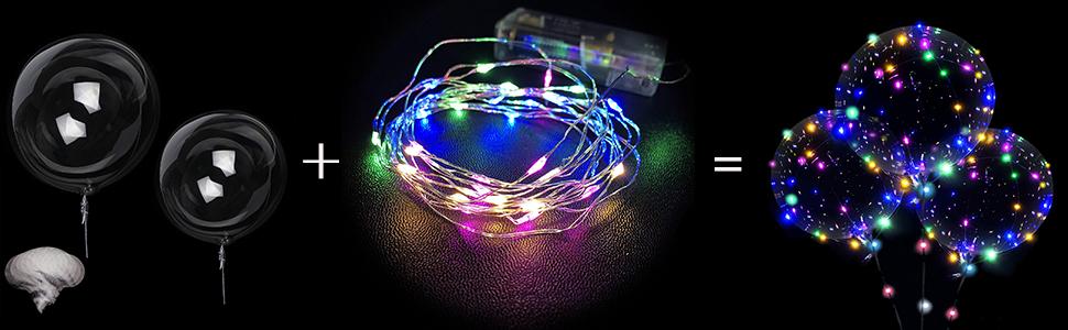 light up led balloons
