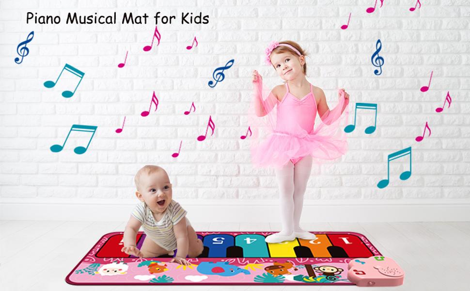 Piano Music Mat for Kids