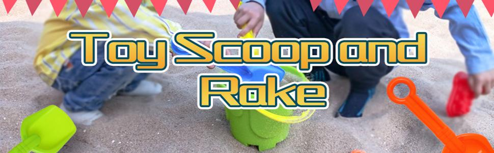 toy scoop and rake