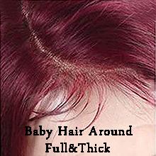 Baby Hair Around