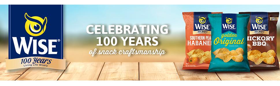 Celebrating 100 Years of snack craftsmanship.