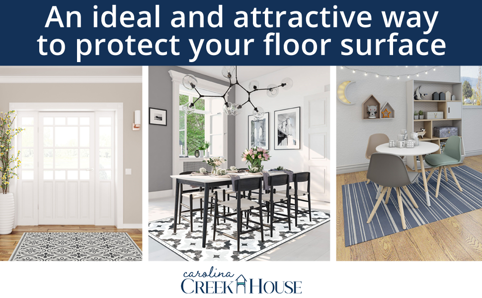 Carolina Creek House - An ideal and attractive way to protect your floor surface