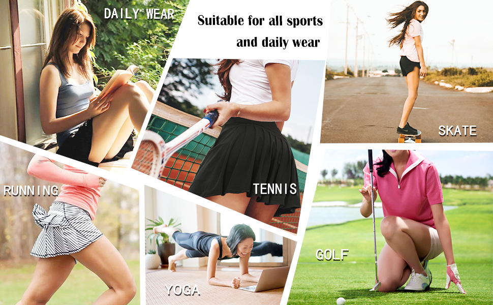 skorts skirts for women casual