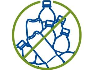 eau filtrée brita bouteille réduction des déchets