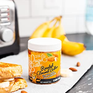 Hand Crafted Roasted Almond Butter