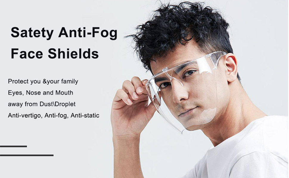 Tue-Ally full glass face shield